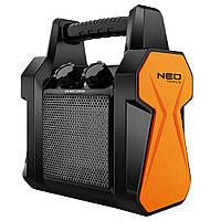 Обогреватель NEO керамический переносной, 2 кВт, 20м2, 139 м3/ч