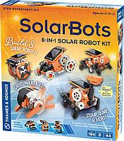Экспериментальный комплект SolarBots STEM для создания солнечного робота 8-в-1 от Thames & Kosmos (Германия)