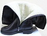 Ботфорты зимние женские большого размера от производителя модель ВБ88БФ, фото 5