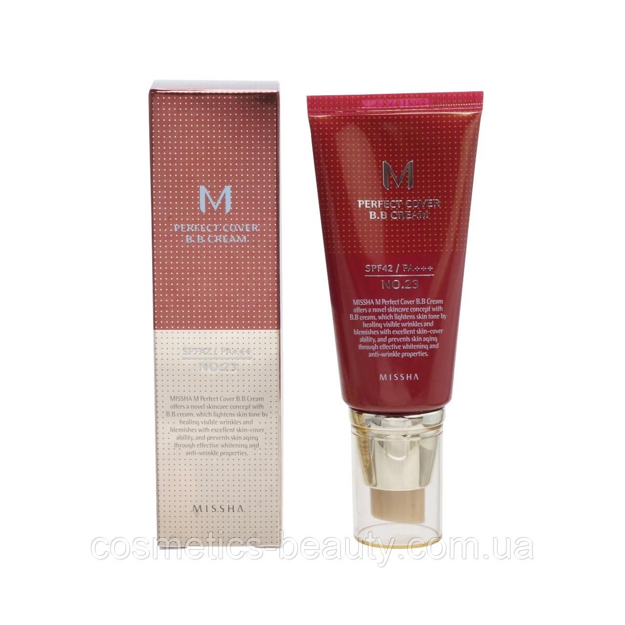 Missha M Perfect Cover BB Cream BB крем SPF42 / PA+++  №21,50 мл.