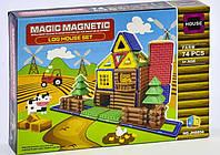 Детский магнитный конструктор JH 8856 74 детали Детские конструкторы Конструктор на магнитах