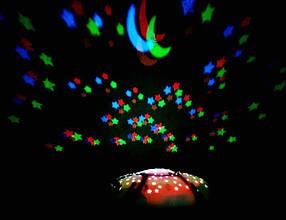 Ночник Звёздное Небо Большая Плюшевая Черепаха  Детский Ночной Проектор