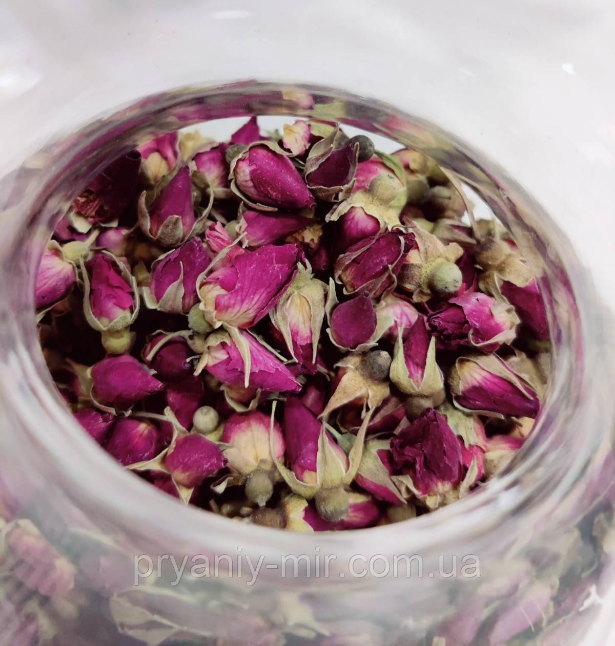 Чайна троянда (Бутони троянд сушені)