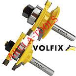 Фрези VOLFIX d8 з 2х фрез для меблевої обв'язки об'єднані рамкові, фото 7