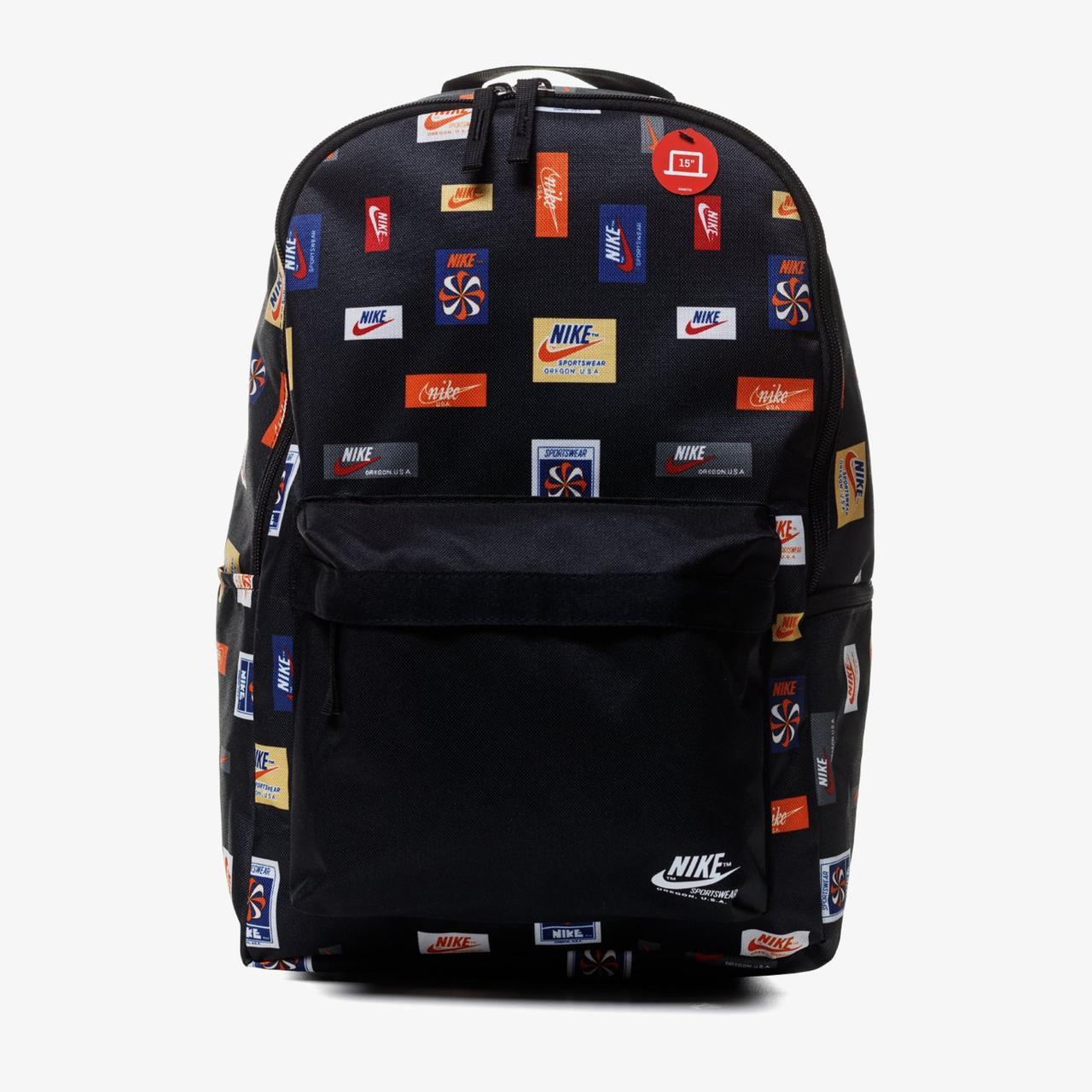 Рюкзак Nike Heritage BKPK 2 JDI Y AOP CQ6298-010 Черный