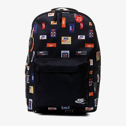 Рюкзак Nike Heritage BKPK 2 JDI Y AOP CQ6298-010 Черный, фото 2