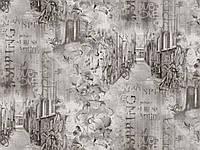 Шпалери 1,06х10,05, гаряче тиснення, Амстердам 504-10 світло-сірий, фото 1