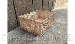 Лотки плетеные из лозы 30*30*8, фото 3