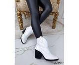Зимние ботинки казаки питон, фото 2