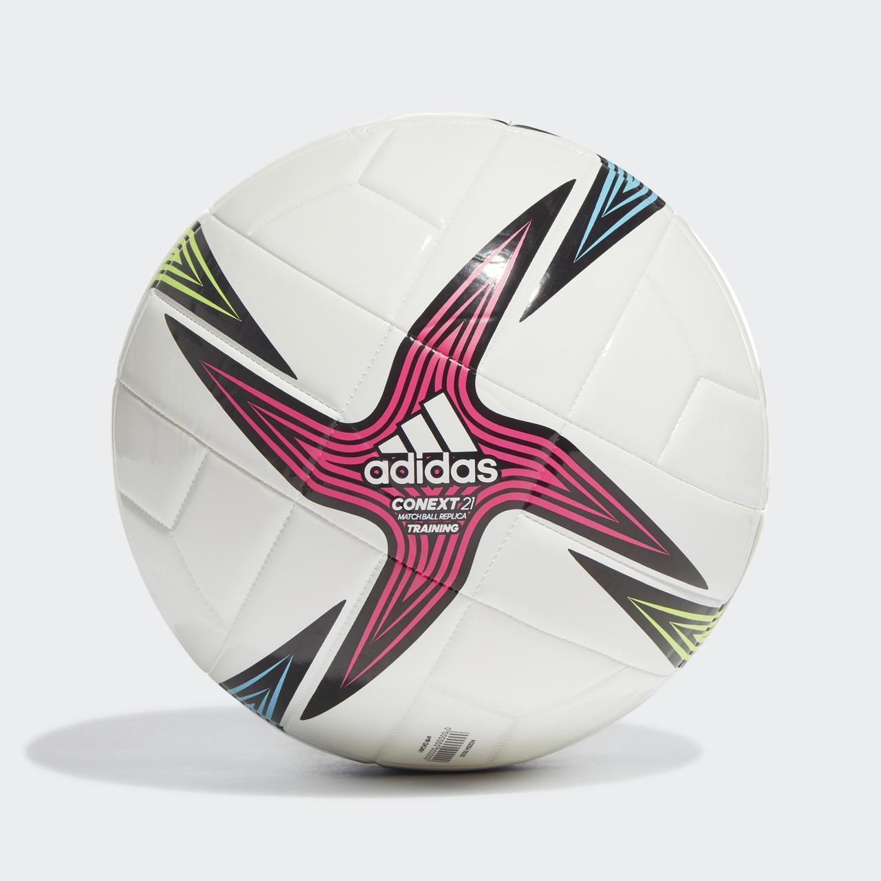 Мяч футбольный Adidas Conext 21 Training Ball №5 GK3491 Белый