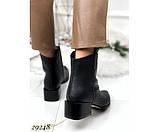 Ботинки казаки питон  зимние, фото 3