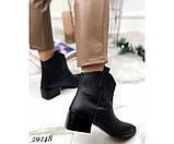 Ботинки казаки питон  зимние, фото 5