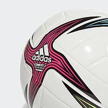 Мяч футбольный Adidas Conext 21 Training Ball №4 GK3491 Белый, фото 2
