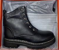 Ботинки женские зимние 8 пар в ящике черного цвета 36-41, фото 6