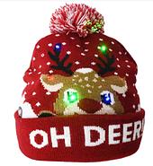 Шапка новогодлняя светящаяся, фото 5