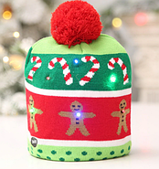 Шапка новогодлняя светящаяся, фото 9