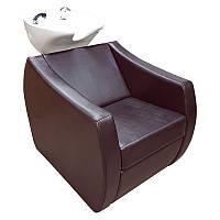 Прочная элегантная кресло-мойка с большим удобным креслом и глубокой рковиной с сантехникой М001011, фото 1