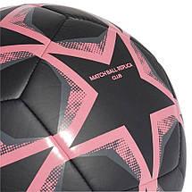 Мяч футбольный Adidas Finale 20 Real Madrid Club FS0269 №5 Черный, фото 3