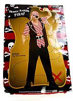 PM2-10249, Карнавальный костюм мужской. Пират, , коричневый-красный