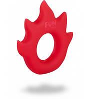 Эрекционное кольцо Fun Factory FLAME красное