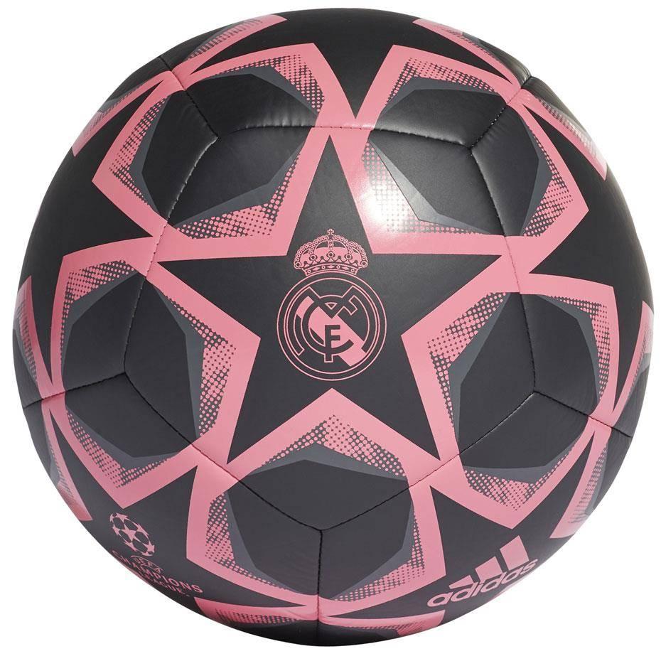 Мяч футбольный Adidas Finale 20 Real Madrid Club FS0269 №4 Черный