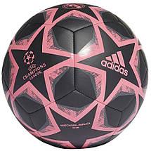 Мяч футбольный Adidas Finale 20 Real Madrid Club FS0269 №4 Черный, фото 2