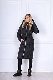 Женская куртка с капюшоном на змейке 44-0265