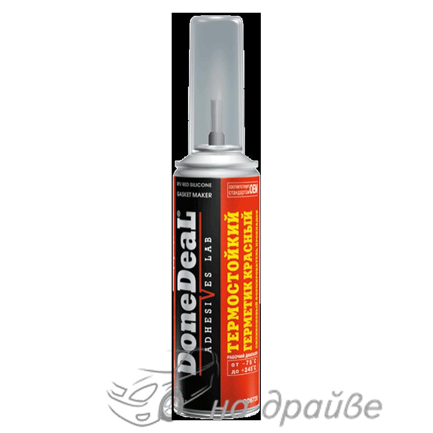 DD6728 226гр Герметик-формирователь прокладок силиконовый термостойкий красный Done Deal