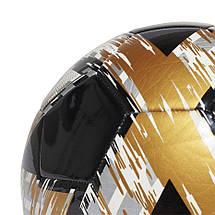 Мяч футбольный Adidas Capitano Club №5 FS0300 Черный, фото 3