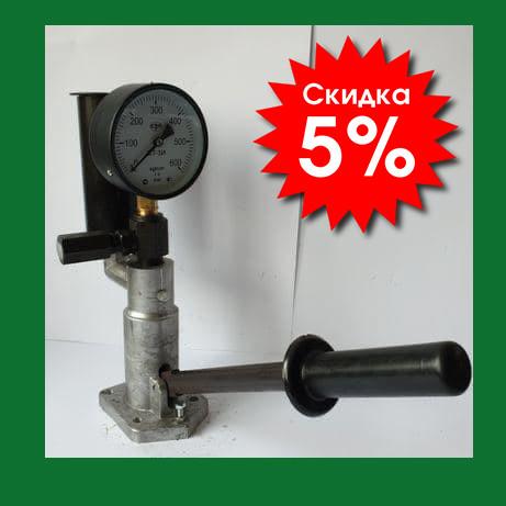 Стенд для перевірки регулювання дизельних форсунок Білорусь