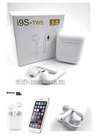 Наушники беспроводные AirPods I9S-TWS 5.0 айфон, андроид (7112)