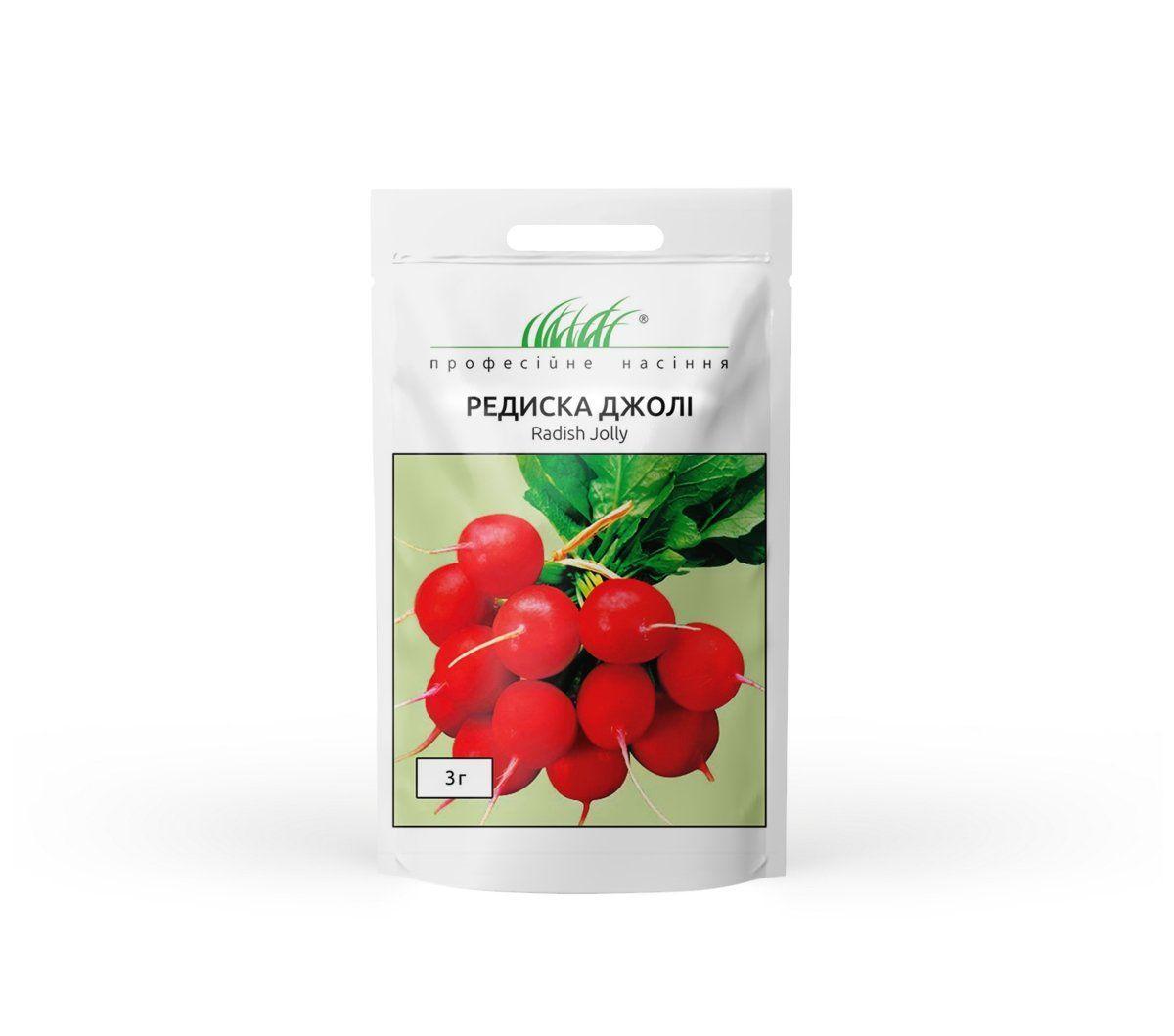 Джолли семена редиски, 3 г — редис, ранний,  Clause