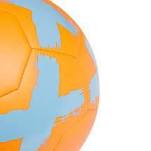 Мяч футбольный Adidas Starlancer V Club FS0388 Оранжевый, фото 3