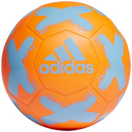 Мяч футбольный Adidas Starlancer V Club FS0388 Оранжевый, фото 2