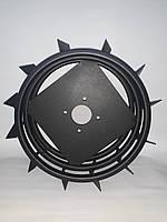 Грунтозацепы для мотоблока усиленные (железные колеса) Ø 450 мм., фото 1