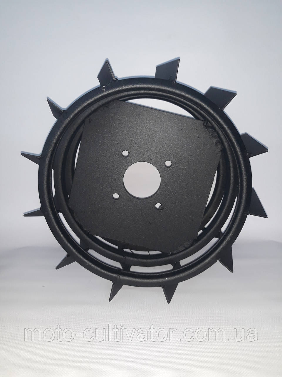 Грунтозацепы для мотоблока усиленные (железные колеса) Ø 380 мм.