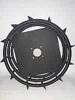 Грунтозацепы для мотоблока усиленные (железные колеса) Ø 550, фото 1