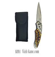 Нож выкидной Stalmese 20см +чехол на пояс (6194)