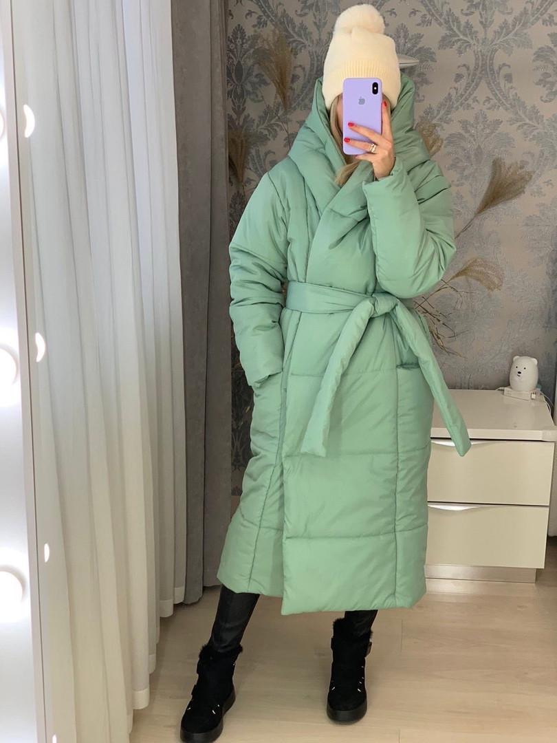 Жіноча куртка-ковдру на флісовой підкладці