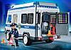 Playmobil 4023 Полиция Автозак с мигалкой Полицейский фургон Police Van with Police Officers, фото 2