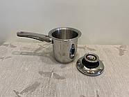 Молочник, 1,4л , кастрюля с ручкой ZEPTER (Цептер), нержавеющая сталь, Швейцария, фото 4
