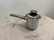 Молочник, 1,4л , кастрюля с ручкой ZEPTER (Цептер), нержавеющая сталь, Швейцария, фото 6