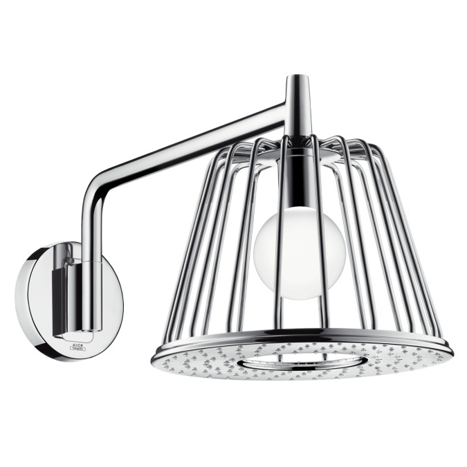 HANSGROHE Axor Lamp Shower верхній Душ з лампою (шліфований нікель)