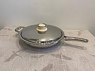 Сковородка-гриль, 3л ZEPTER (Цептер), нержавеющая сталь, Швейцария, фото 2