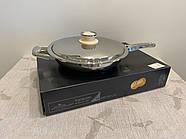 Сковородка-гриль, 3л ZEPTER (Цептер), нержавеющая сталь, Швейцария, фото 3