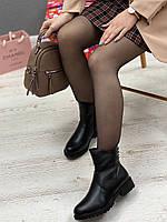 Ботинки женские зимние 8 пар в ящике черного цвета 36-41, фото 3