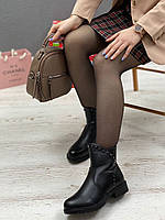Ботинки женские зимние 8 пар в ящике черного цвета 36-41, фото 2