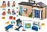 Playmobil 5941 Конструктор Переносная школа 3 в 1 Take Along School Play Set, фото 2
