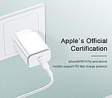 Быстрое зарядное устройство VOXLINK USB Type-C PD 3.0 QC3.0 18 Вт Модель HMCG0006, фото 3