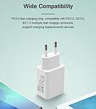 Быстрое зарядное устройство VOXLINK USB Type-C PD 3.0 QC3.0 18 Вт Модель HMCG0006, фото 5